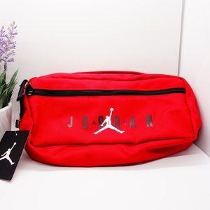 NWT Nike Air Jordan Waist Bag Fanny Pack Red